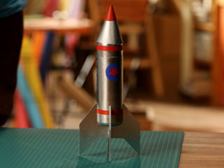 ROCKET STATIONERY HOLDER