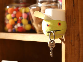 Tennis Ball Key Holder