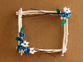 BALL FLOWER FRAME
