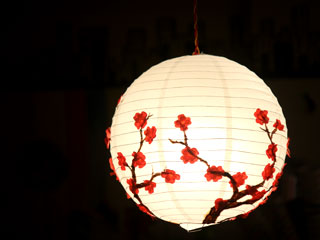 UPCYCLED CHINESE LAMP