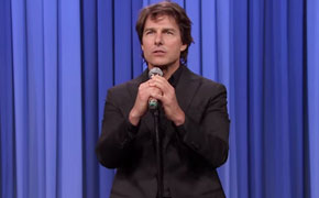 Tom Cruise and Jimmy Fallon do epic lip-sync session on the Tonight Show