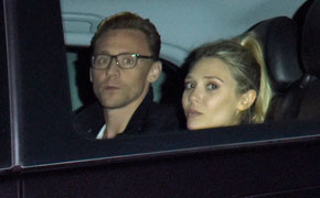 Romantic Rendezvous? - Avengers co-stars Olsen and Hiddleston spotted in London