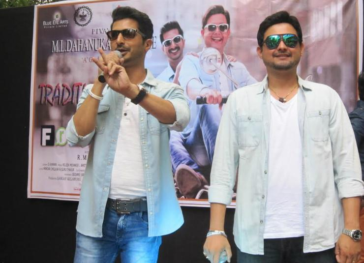 Swapnil and Sachit promote 'Friends' in Mumbai Colleges
