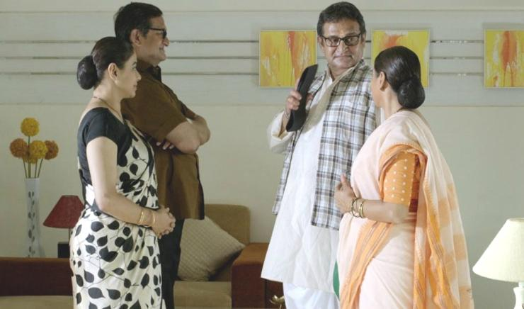 Mahesh and Medha Manjrekar to present double roles with a difference