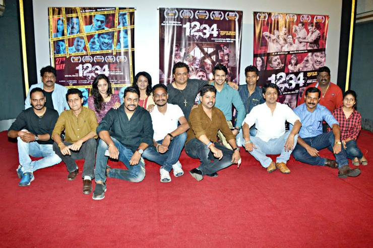 Trailer of Marathi film 1234 unveiled