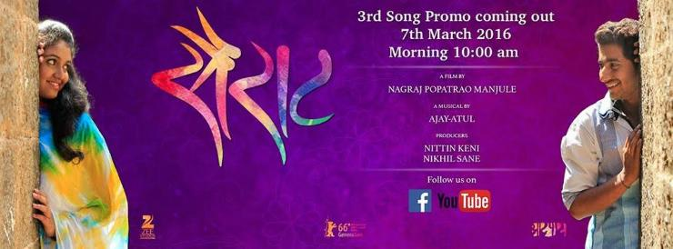 Sairat Third Song Promo Unveiled, Film To Release On April 29, 2016
