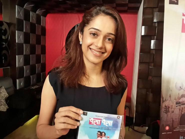 Hindi TV Star Vinita Joshi Is Making Her Debut In Marathi Cinema Through Paisa Paisa