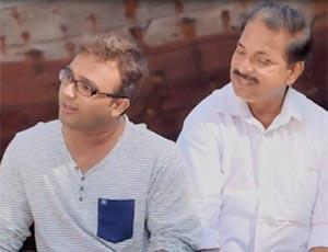 Vijay Kalamkar speaking about his short film Paan Supari