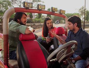 Director Pratap Phad expressing his views on Short film – Anekant