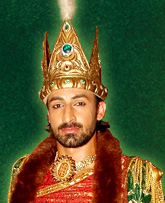 Vikram Virk as Mahmood, the Amir of Ghaznavi