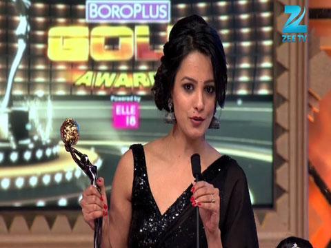Anita Asnandani Wins Best Actor In A Negative Role Female Award