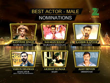ZCA 2016 - Nominations For Best Actor Male