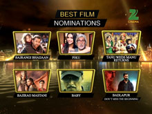 ZCA 2016 - Nominations For Best Film