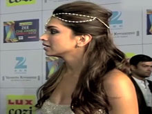 Deepika Before Winning The Best Actress Award At ZCA 2014