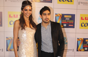Deepika Padukone And Ayan Mukerji On Red Carpet