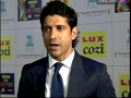 Farhan Akhtar On Red Carpet