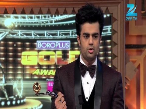 Manish Paul Wins Rising Film Star From Television Award