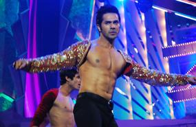 Varun Dhawan Stage Performance