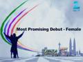 Most Promising Debutant