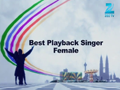 Best Playback Singer Female