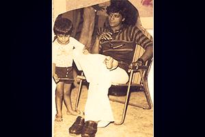 Childhood Snap of Karanvir Bohra (Aahil)