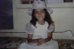 Childhood Snap of Surbhi Jyoti (Sanam)