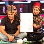 Salman Khan Smitten By Azmat Hussain