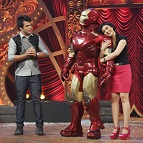 Superhero fever hits India's Best Dramebaaz with Iron Man as celebrity guest!