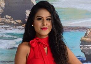 Nia Sharma Goes Glam!