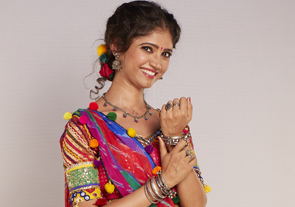 Ratan Rajput wears her own silver jewellery to play Jhumri's role on Zee TV's Mela
