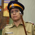 Watch inspector Usha Nadkarni in Bh Se Bhade!