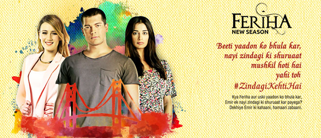 Zindagi channel serial feriha episode 1 / Breaking bad
