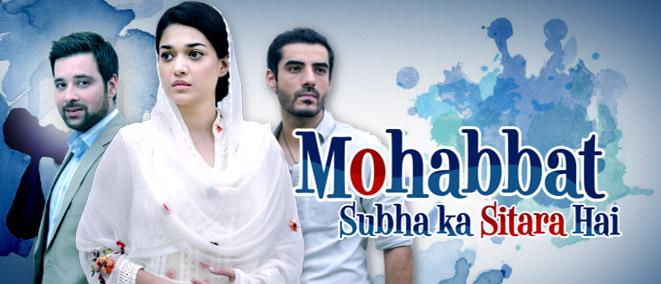 Mohabbat Subeh ka Sitara Hai